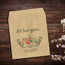 seed packet wedding favors shop wedding favor seed packets on wanelo