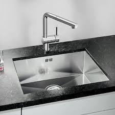 Quarta U Undermount Stainless Steel Kitchen Sink - Kitchen sinks blanco