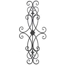 Tremendous Metal Wall Decor Hobby Lobby Manificent Design Metal Wall Scroll Fashionable Brown Scroll Metal
