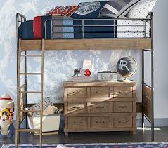owen twin loft bed pottery barn kids