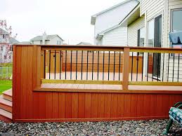 modern deck railing planter doherty house the most popular