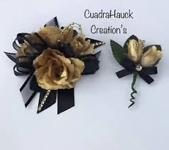wrist corsages for prom wrist corsage corsage prom black and gold wrist corsage prom