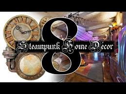 steampunk home décor tips to add industrial feeling in design