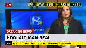 Breaking News Meme Generator - lmfao news imgflip