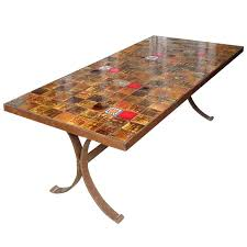tile top dining room tables tile top table and chairs tucker tile top dining table tile top
