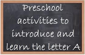 preschool activities alphabet curriculum letter a