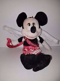 mickey mouse s day walt disney world s day mickey mouse cupid plush 9