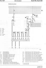audi 100 wiring diagram audi wiring diagrams instruction