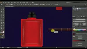 cs6 design how to draw a velvet color perfume bottle adobe illustrator