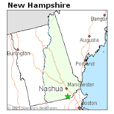 map usa new hshire best places to live in nashua new hshire
