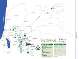 fernwood botanical garden and nature preserve site map