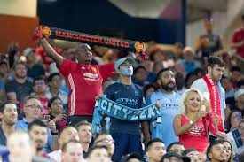 manchester united and city eyeing up money spinning america derby