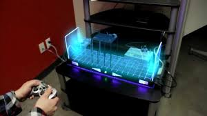 play table board game console future holographic video game console youtube