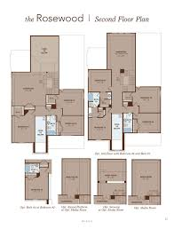 rosewood home plan by gehan homes in savanna ranch