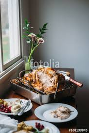 thanksgiving turkey ready to eat stock photo and royalty free