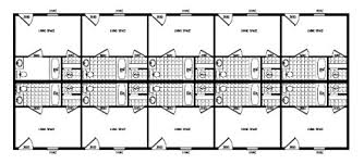 motel floor plans clh commercial oil field and industrial buildings economical
