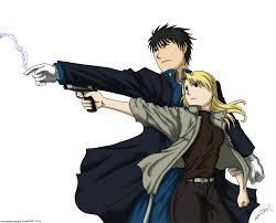 colonel mustang roy mustang and riza hawkeye by nerovanderhaven on deviantart