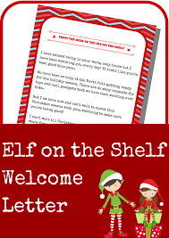 printable elf on the shelf arrival letter elf on the shelf welcome letter a grande life
