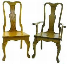 Queen Anne Style Dining Room Chair From DutchCrafters Amish Furniture - Dining room chairs