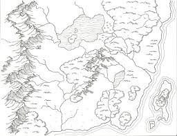 drew this for a redditor who wanted a clean world map for his rpg
