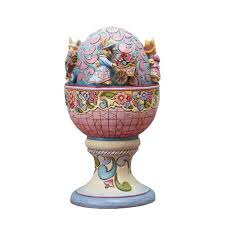 jim shore easter baskets charming and easter figurines