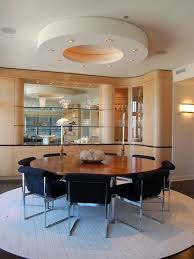 Glass Round Dining Table Houzz - Glass round dining room tables