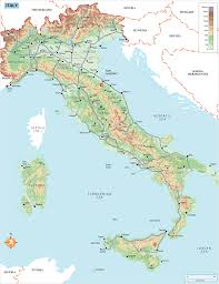 Norcia Italy Map Rg B Format