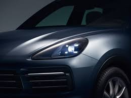 porsche 918 headlights 2018 porsche cayenne surfaces early with an evolutionary design