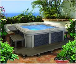 backyards charming awesome set up for swim spa 51 backyard and