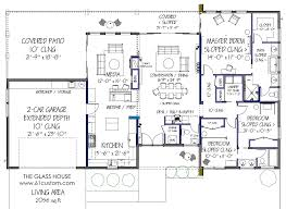 modern house floor plans free mid century modern house plans online gif