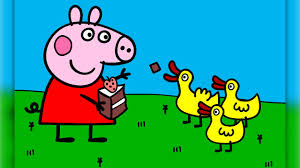 peppa pig coloring pages kids peppa pig coloring games