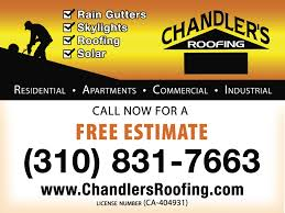 chandler s roofing thehall net