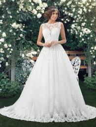 robe de mariã e dentelle dos col haut robe de mariée 2016 en dentelle sans manches dos nu rit