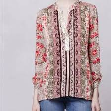 popover blouse anthropologie anthro devas popover blouse from natalie s closet