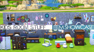 the sims 4 kids room stuff item showcase overview youtube
