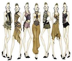 fashion sketches with graphic software fuel4fashion