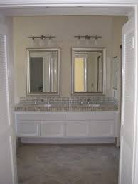 Wood Frames For Bathroom Mirrors Glamorous 40 Bathroom Mirrors Brushed Nickel Frame Inspiration