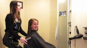 pictures of salon hairstyles for 8 yr old girl dramatic 7th grade haircut youtube