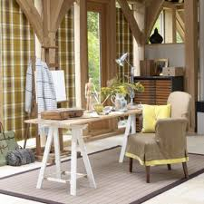 Country Home Interior Ideas Decorating Mid Century Country Home Office Interior Design With