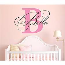 Letter Wall Decals For Nursery Letters Wall Decals