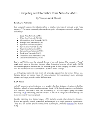 Good Home Network Design Computing And Informatics Class Notes For Amie