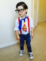 toddler version of clarkkent toddlersuperman superkid