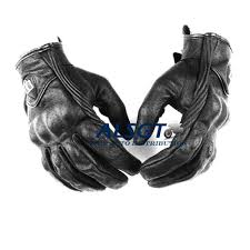 motorcycle protective gear retro perforated leather motorcycle gloves cycling motorbike