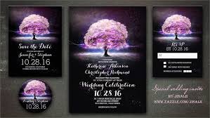 purple wedding invitations read more purple tree string lights wedding invitation wedding