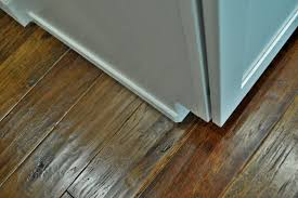 Laminate Flooring Trim Another Kitchen Project U003d Done Loving Here
