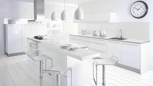 meuble cuisine blanc laqué cuisine blanc laque brillant cuisine nous a fait à l aise