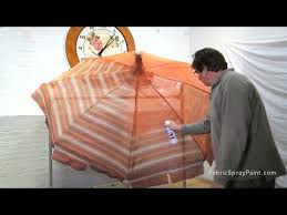Where To Buy Upholstery Fabric Spray Paint How To Use Simply Spray Outdoor Fabric Paint On A Patio Umbrella