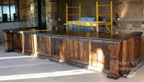 solid wood kitchen islands mediterranean style wood kitchen island taber companytaber