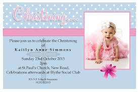 1st Birthday Invitation Card Samples Beautiful Baptism Invitation Cards Free 94 For 1st Birthday