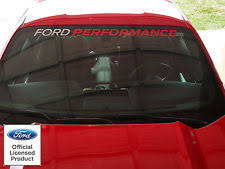 mustang windshield decal mustang decals ebay